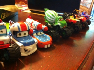 Monster trucks Cars theme