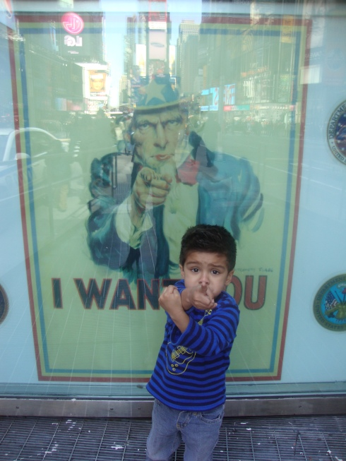 I want you! Uncle Sam