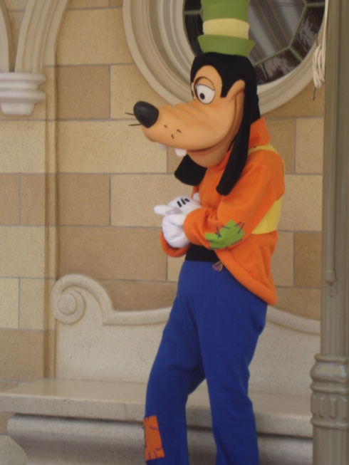 Disney Goofy character
