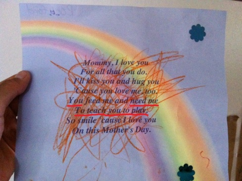 poem from my son