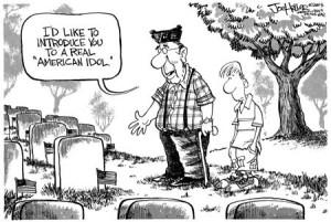 honoring fallen soldiers