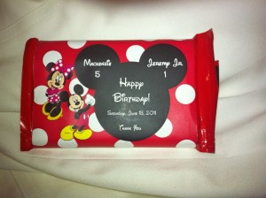 mickey mouse favor