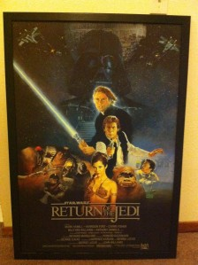 "star wars ""Return of the Jedi"" poster"