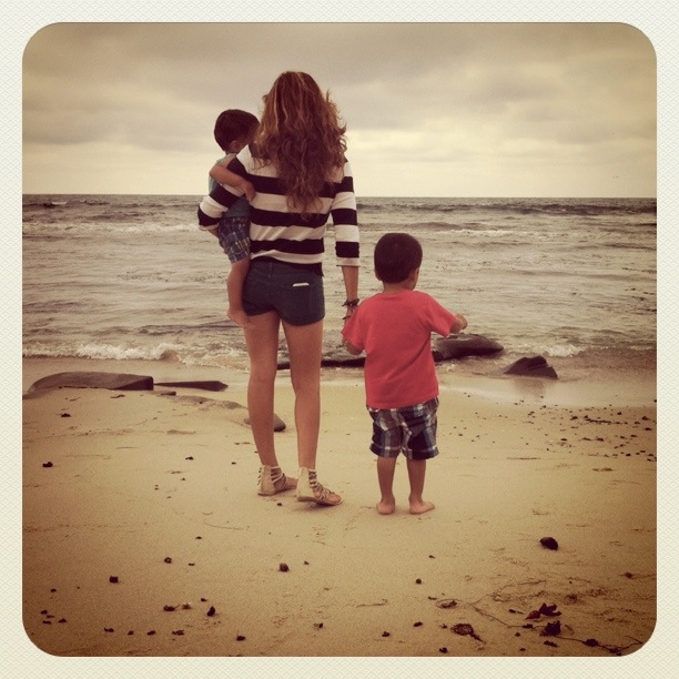mommy and boys