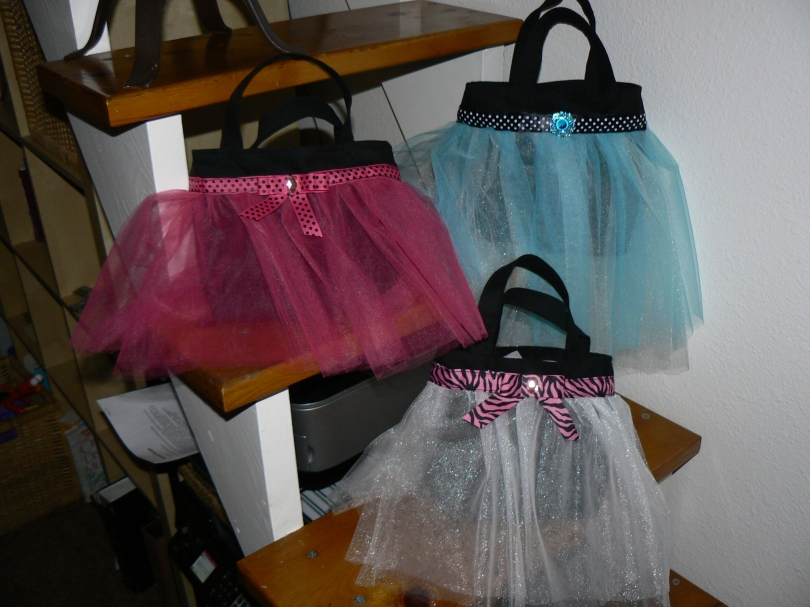 tulle bags