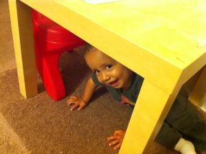 silly little boy