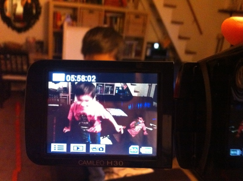 recording with video camera